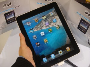 Expats can make use of digital tools such as the ipad.
