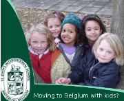 international school banner frame 1